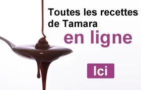 Toutes les recettes de Tamara en ligne